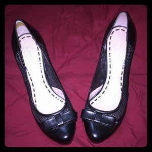 Enzo Angiolini ~ Sexy Black Leather Heels